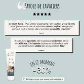 ❤️ Votre avis compte ❤️  Ani Crème cicatrisante, à shopper d'urgence pendant nos promos d'hiver ! 🤩  🌐 Rendez-vous sur www.ani-marine.fr