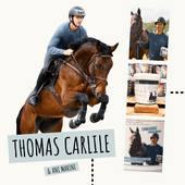 ✨ THOMAS CARLILE ✨ . Vous êtes nombreux à l'avoir deviné!  Nous sommes très fiers de pouvoir compter @tom.carlile dans notre équipe. Nous souhaitions une nouvelle fois nous investir dans la fabuleuse et exigeante discipline qu'est le Concours Complet. 🐎 . C'est donc tout naturellement que nous nous sommes tourné vers Thomas Carlile, un cavalier d'exception que nous avions rencontré au Haras du Pin, pour @legrandcomplet, en 2019 où il avait littéralement rasé les remises des prix. 🏆 . Merci pour ta confiance Tom, une belle histoire commence ! 🐴🌊✨ . . 🎁 Merci à tous pour votre participation ! Résultat du tirage au sort très vite. Indice : Surveillez les commentaires... 💬😉