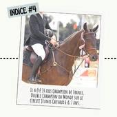 [ DERNIER INDICE • 4 ] 🔍  🐎 🌲 🏆🏆🇫🇷🌎🦁  🤫 Récompense par tirage au sort parmi les (déjà nombreuses) bonnes réponses... 🎁 BONUS pour ceux qui donneront le nom du cheval sur la photo ! ✨  🔜 Rendez-vous demain pour l'annonce finale ! ✨